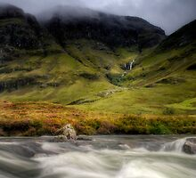 Glen Coe Tempest by Chris Frost Photography