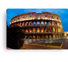 Rome Colosseum at Dusk Canvas Print
