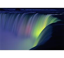 Niagara Falls at Twilight  Photographic Print