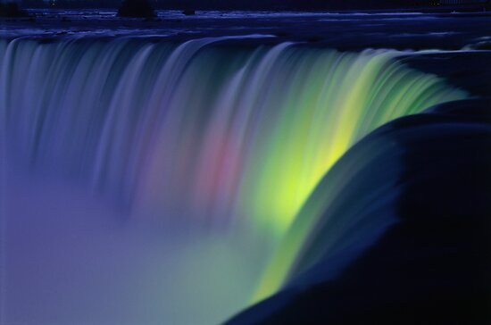 Niagara Falls at Twilight  by printscapes