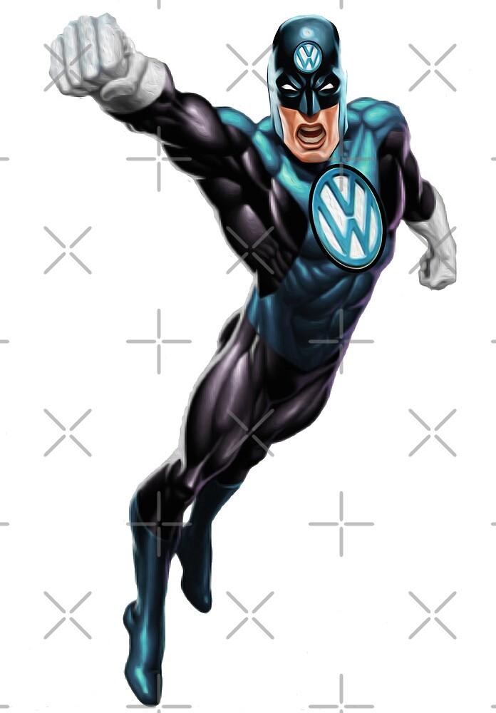 VW Super Hero by Vin  Zzep
