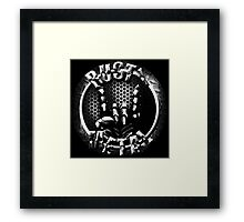 Rusty Metal Logo 1 Framed Print