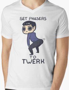 Twerk It Mens V-Neck T-Shirt