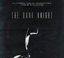 The Dark Knight movie poster no 2 by OurBrokenHouse