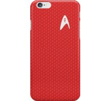 Red Shirt iPhone Case/Skin