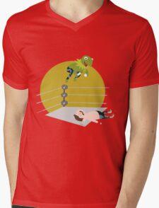 Kermit the Frogsplash Mens V-Neck T-Shirt