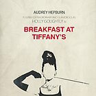 Breakfast at Tiffany's minimalist poster by OurBrokenHouse