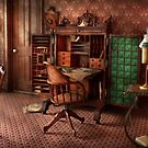 Doctor - Desk - The physician's office  by Mike  Savad