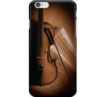 Violin and Sheet Music iPhone Case/Skin