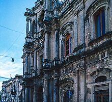Chiesa dell Collegio 1736 Noto Sicily 198403270027 by Fred Mitchell