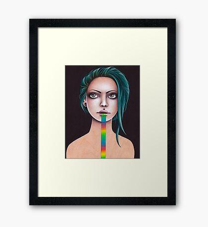Untitled Rainbow Framed Print