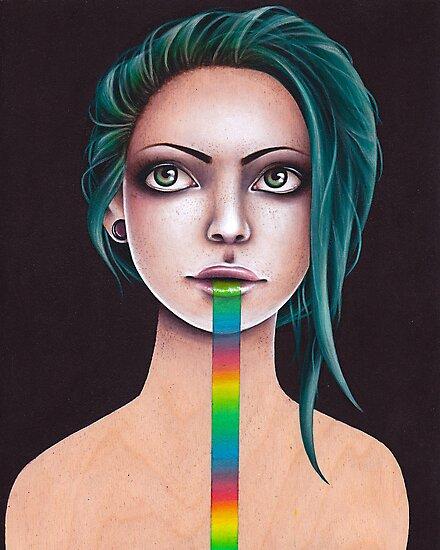 Untitled Rainbow by Squidy