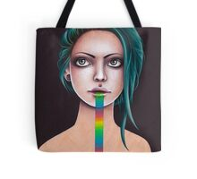 Untitled Rainbow Tote Bag