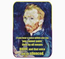 Vincent van Gogh Quote One Piece - Short Sleeve