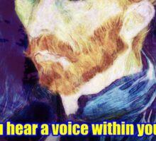 Vincent van Gogh Quote Sticker