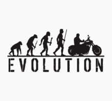Evolution of Man Motorbike Shirt by movieshirtguy