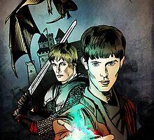 Merlin by miriamuk