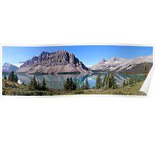 Bow Lake, Banff National Park Poster