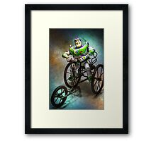 Driving Buzzed Framed Print
