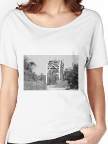Old Railroad Bridge Women's Relaxed Fit T-Shirt