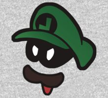 Mr. L  (Evil Luigi) One Piece - Long Sleeve