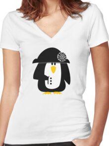 Penguin Bonaparte VRS2 Women's Fitted V-Neck T-Shirt