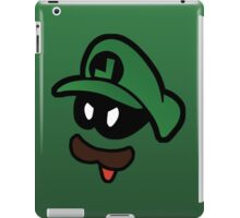 Mr. L  (Evil Luigi) iPad Case/Skin