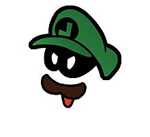Mr. L  (Evil Luigi) Photographic Print