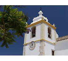 Portugal Alvor Church Photographic Print