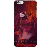 Scanner Bistro - Mercredi Metal iPhone Case/Skin