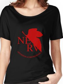 NERV Red Logo Women's Relaxed Fit T-Shirt