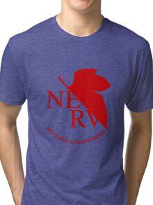 NERV Red Logo Tri-blend T-Shirt