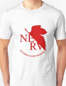 NERV Red Logo Unisex T-Shirt