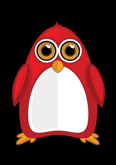 Red Penguin 2 by Adamzworld