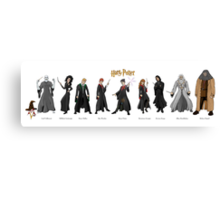 Harry Potter Project Canvas Print