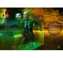 holographic universe Photographic Print