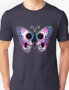Sugar Skull Butterfly Tattoo Flash T-Shirt