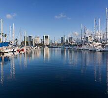 Ala Wai Harbor by Alex Preiss