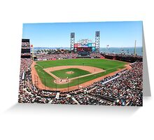 AT&T Park - San Francisco Greeting Card