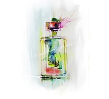 a beautiful bottle of perfume2 by Teni