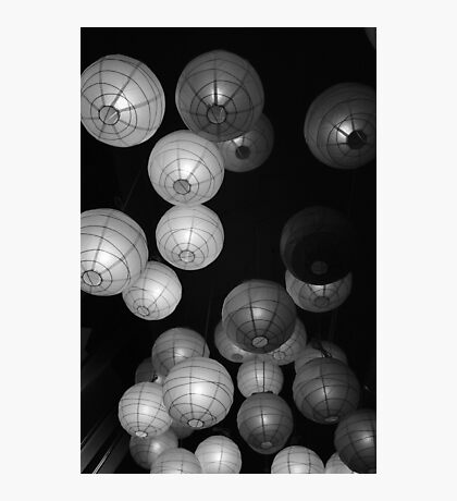 Lanterns Photographic Print