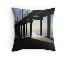 Not Another Jetty! Throw Pillow
