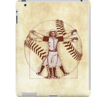 Vitruvian Baseball Player (Natural Tones) iPad Case/Skin