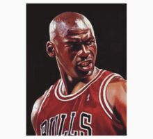 Michael Jordan  by bradsipek
