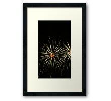 Exploding Core Framed Print