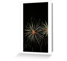 Exploding Core Greeting Card