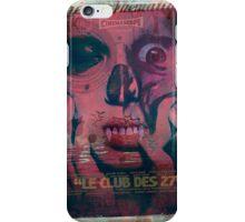 Scanner Bistro - 27 club iPhone Case/Skin