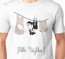 Buster Keaton Hello Neighbor! cartoon Unisex T-Shirt