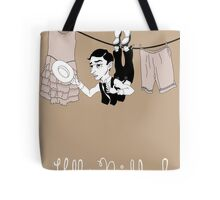 Buster Keaton Hello Neighbor! cartoon Tote Bag