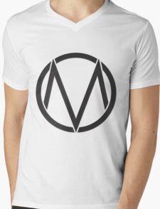 The Maine (logo) Mens V-Neck T-Shirt